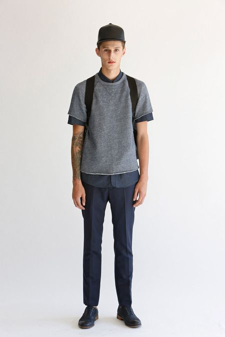 Short Sleeve Layering  Bespoken | Spring 2014 Menswear Collection | Style.com