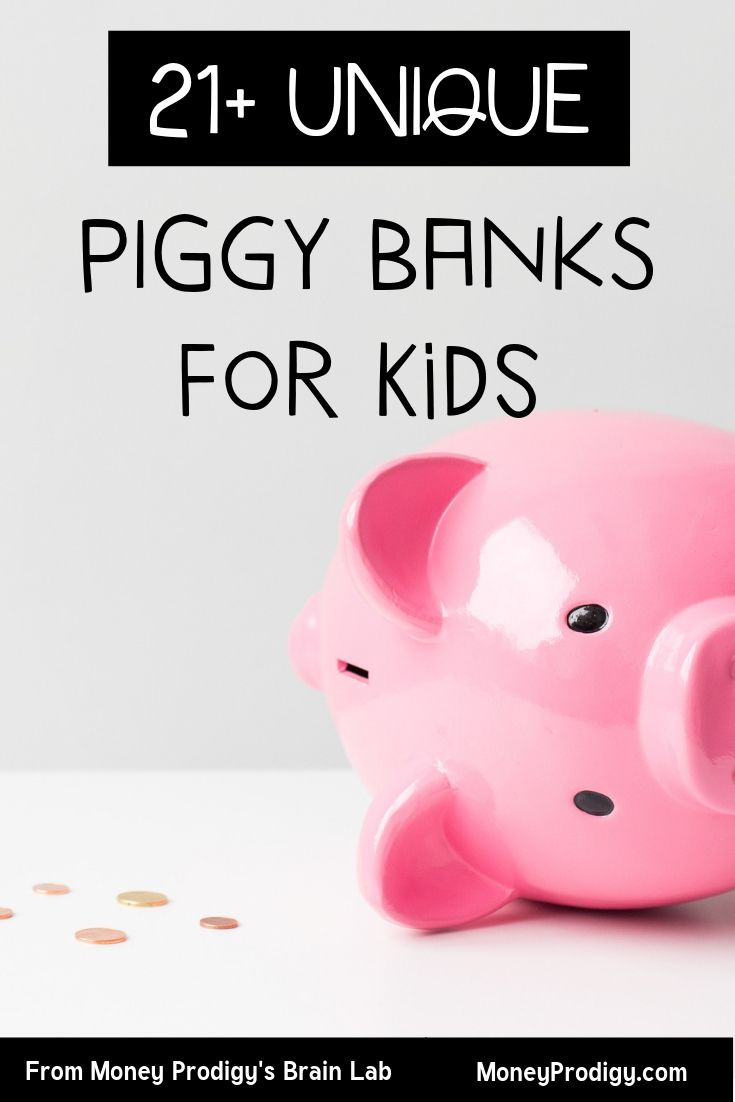 21 Unique Kid Piggy Banks Plus How To