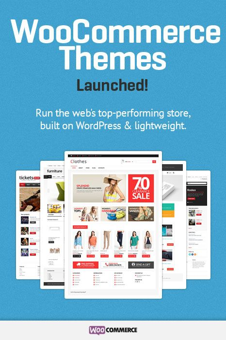 Check out the new product line from TemplateMonster - WooCommerce themes. Perfect solution for a medium size store powered with your favorite WordPress CMS.