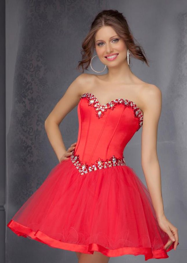 140 Best images about Red Dresses on Pinterest | Red shorts, Short ...