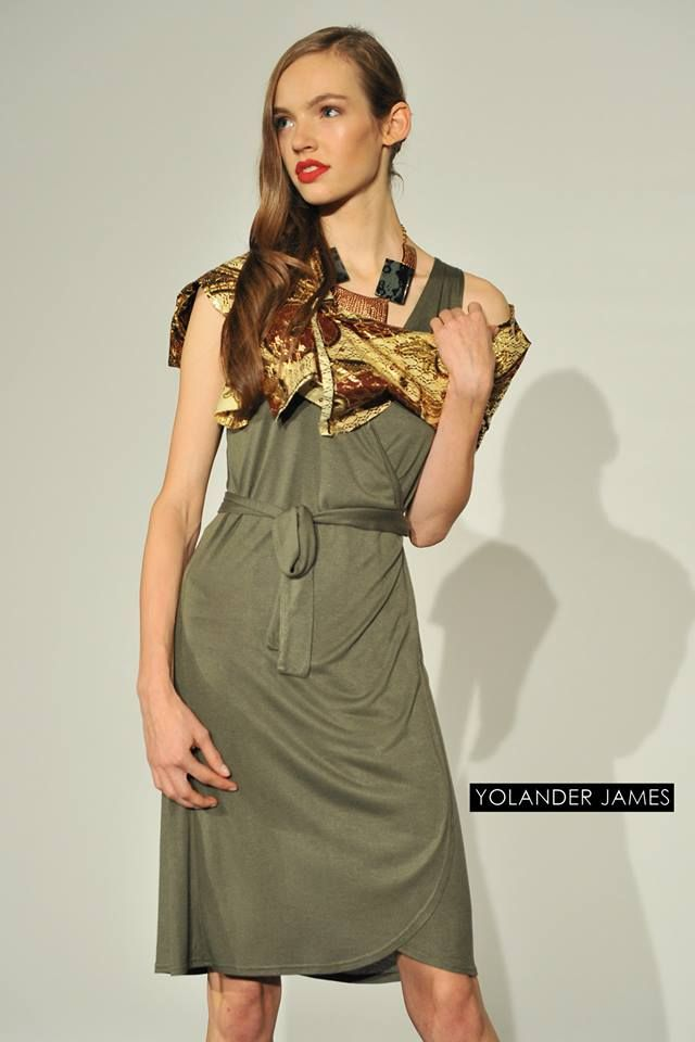 The Wrap Dress Collection at last week's fashion show in Hamburg. https://www.facebook.com/YolanderJames