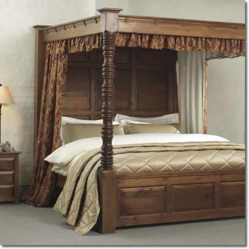16 best four poster bed drapes images on pinterest bed curtains bed drapes and bed linens - Four poster bed curtains ...