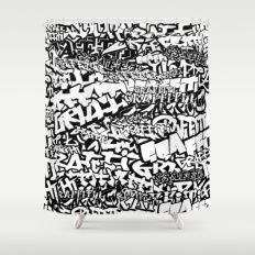 All 8 Shower Curtain