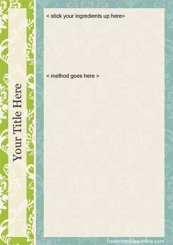 make a recipe book online free selo l ink co