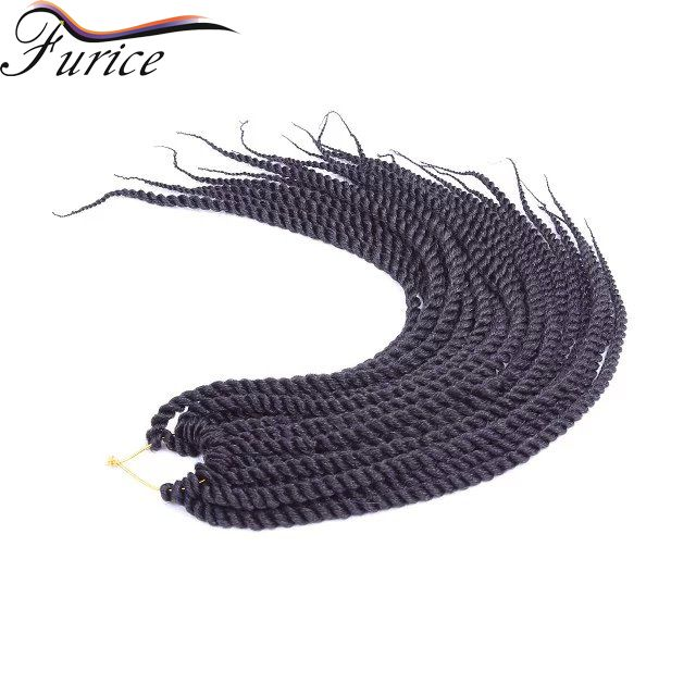 12 14 16 18 22 24 Inch Crochet Hair Havana Twist Crochet Braids  Extension…