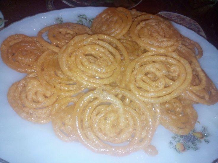 Jalebi Recipe (in Urdu/Hindi) by Sehar Syed