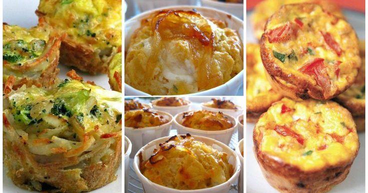 Ricette di muffins salati - Scopri la collezione completa di ricette di Muffins salati spiegate passo-passo, illustrate con foto e spiegazioni facili!