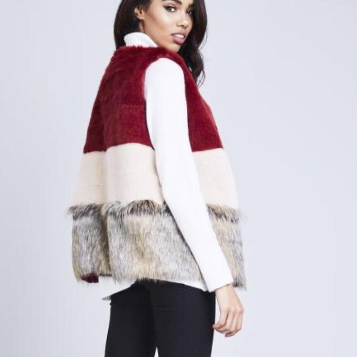 Arriving TODAY ! Gorgeous fur gilet coming INSTORE and ONLINE soon ! #newin #gilet