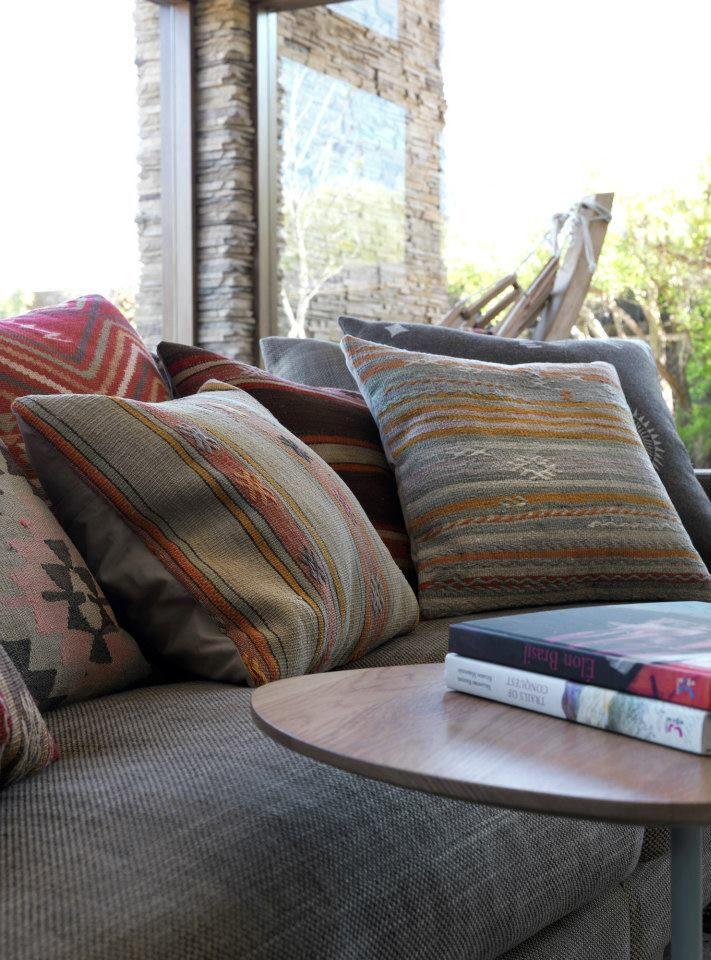 Scatter cushions and interior design by MR. MITCHELL