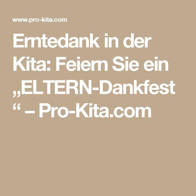 """Erntedank in der Kita: Feiern Sie ein """"ELTERN-Dankfest"""" – Pro-Kita.com"""