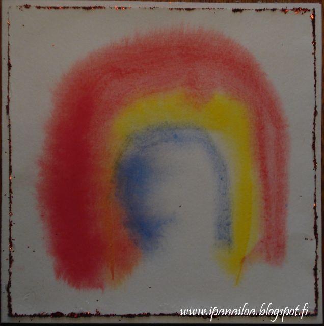askartelua: äitienpäivä, sateenkaari, kortti crafts: Mother's Day, Rainbow, card hantverk: Mors Dag, Regnbåge, kort ipanaaskartelua.blogspot.fi/search/label/äitienpäivä