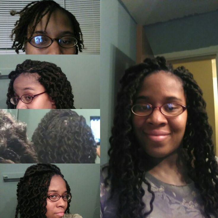 Crochet Braids No Loop : My first time trying out the no cornrows crochet (latch hook) braids ...