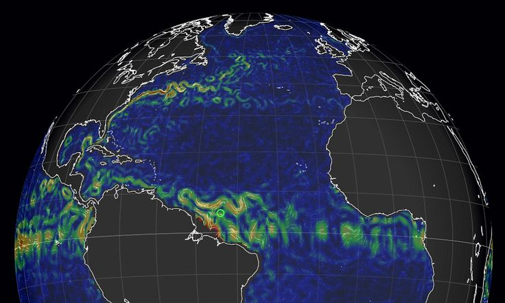 Interactive globe reveals Earth's ocean currents in REAL TIME