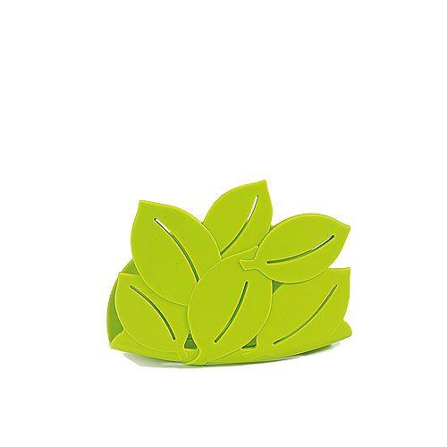 Uchwyt na gąbkę Umbra Foliage, zielony - CzerwonaMaszyna.pl