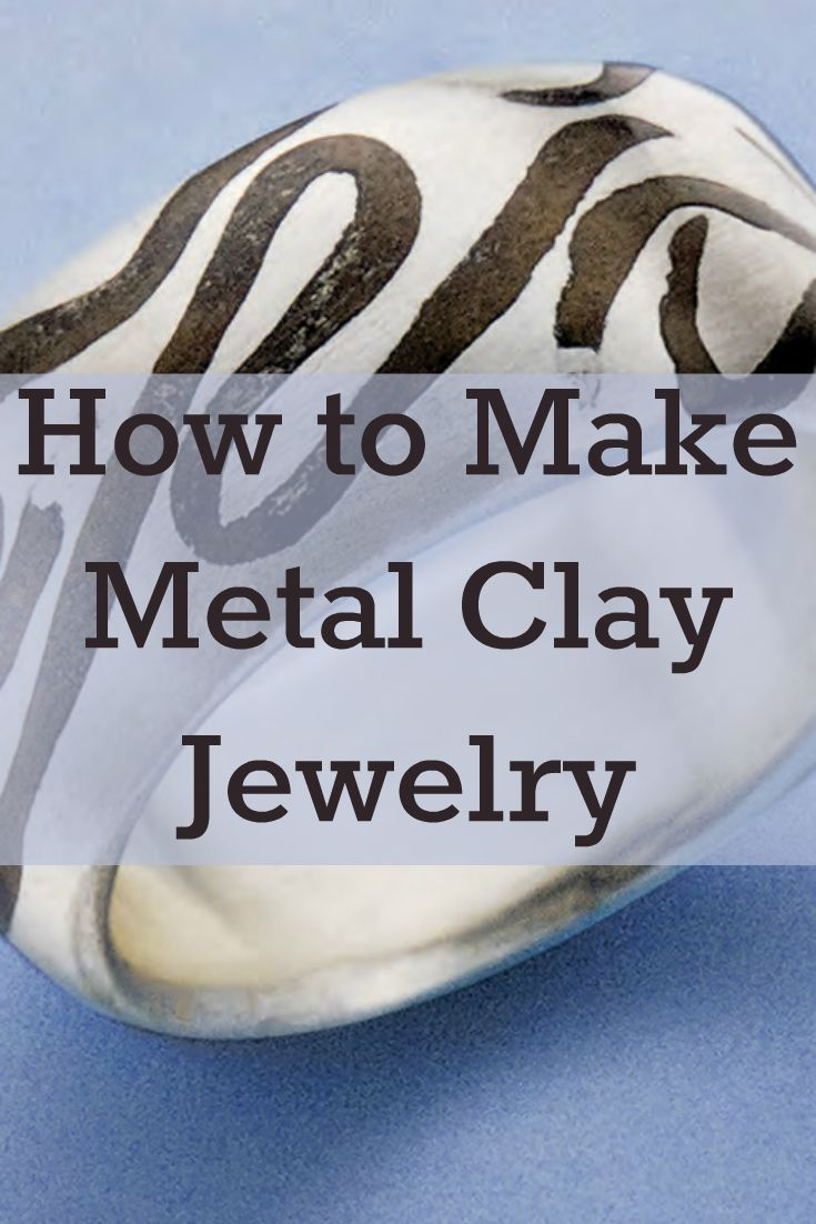 If you like clay jewelry, then you'll LOVE these 4 FREE metal clay jewelry projects! #metalclay #jewelrymaking