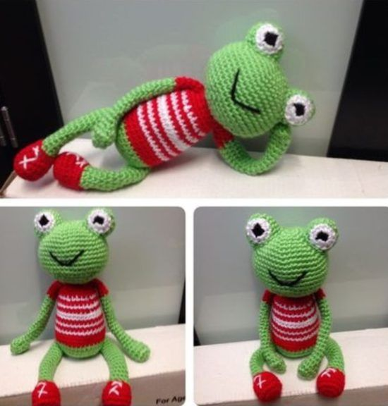 Free Knit Pattern Baby Frog Hat : 1543 best images about Crochet amigurumi on Pinterest ...
