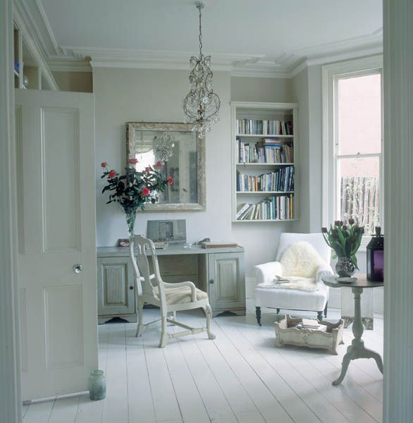9 Shabby Chic Living Room Ideas To Steal: 89 Best Images About Inspiration Offices And Workrooms On