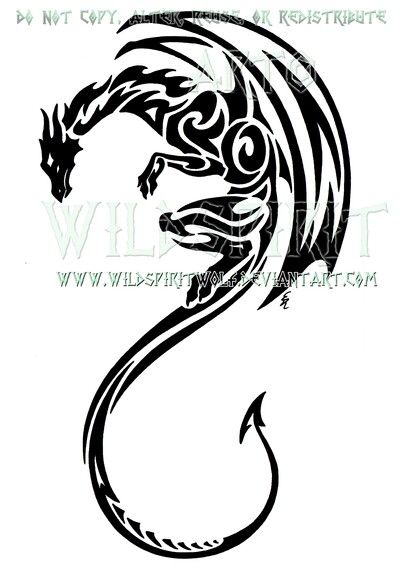 Tribal winged dragon                                                                                                                                                                                 More