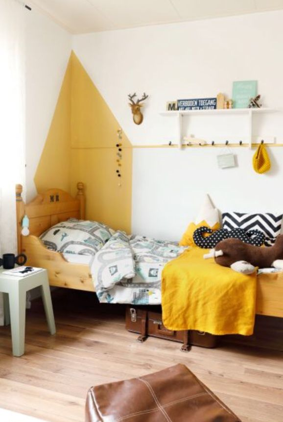 """This quirky boys bedroom is from our feature """"Frivolous Finds"""""""