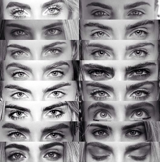 Cara Delevingne's eyebrows.