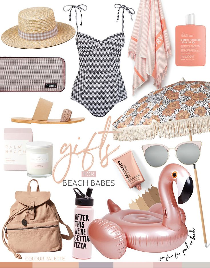 Calling all beach babes, we've dedicated this Christmas gift guide to you. For the ones that would rather spend their days lazing by the water, with not a care in the world.