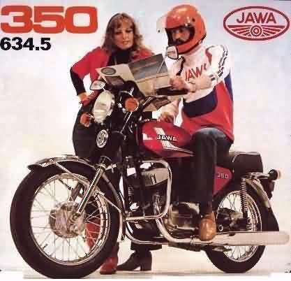 jawa 350 model 634 5 old bike advertising pinterest. Black Bedroom Furniture Sets. Home Design Ideas