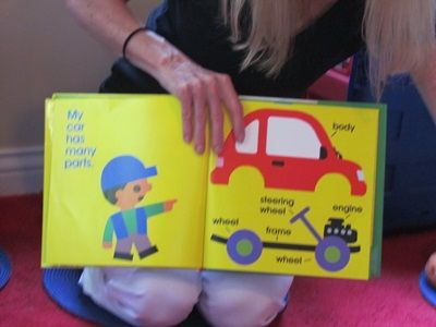 building our very own cars in preschool
