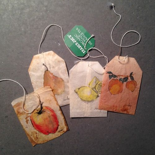 363 days of tea. Day 97. #recycled #tea #teabag #art #artdaily #drawing #still #artwithoutwaste #artdaily #journal