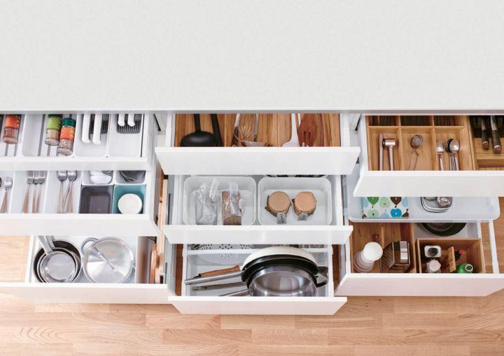 キッチン & キッチン関連商品 - IKEA 「収納スペースをもっと増やして、より自由な収納を目指しました