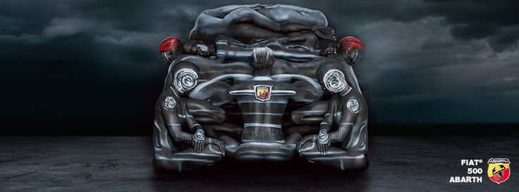 ABARTH BODY PAINT SPREAD