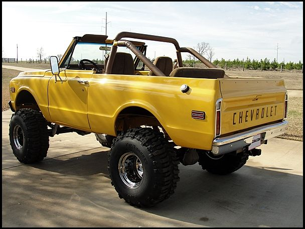 F44 1972 Chevrolet K5 Blazer  350 TPI, Frame-off Restoration Photo 3