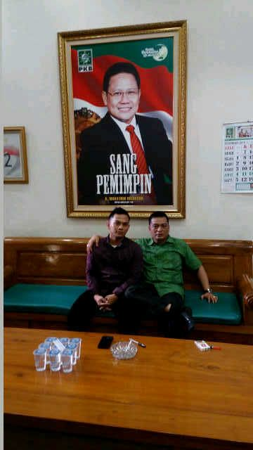 Cek Endra Dapat Dukungan dari F-KMNU Sarolangun