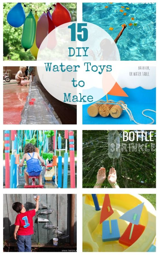 15 DIY Water Toys for Kids to Make for Summer