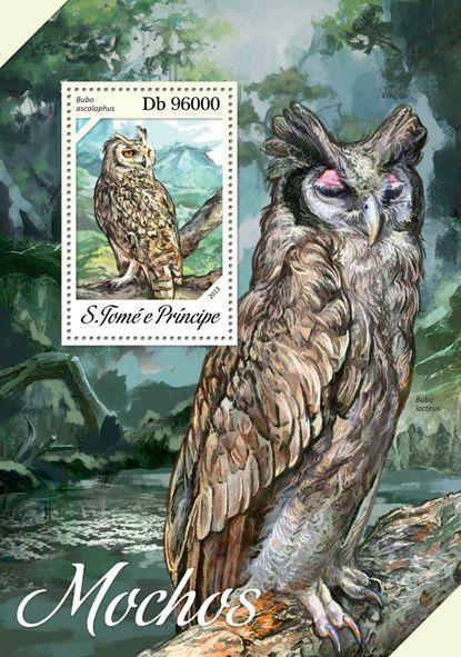 ST 13608 bOwls, (Bubo ascalaphus).