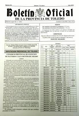 BOP, adiós al papel | Toledo | Toledo - Abc.es