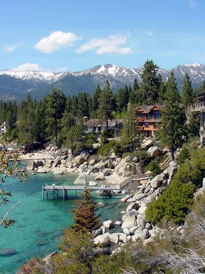 Incline Village North Lake Tahoe. One of our summer trips! Wait! What if we rented something like this with friends for our wedding and then had boring family partners