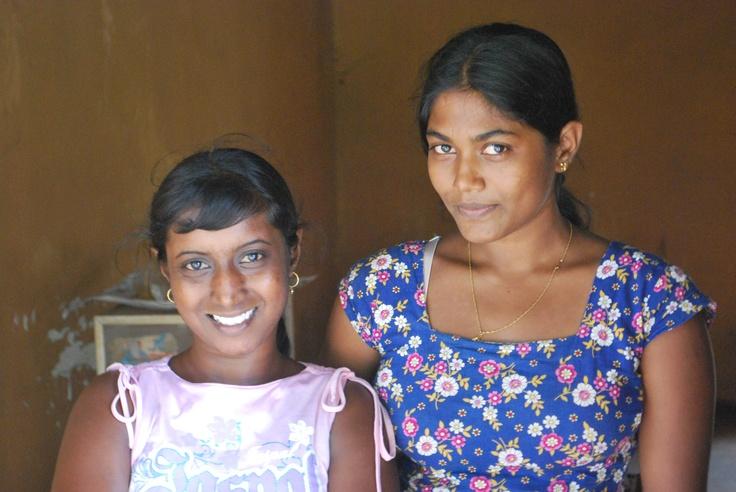 Gorgeous Sri Lankan friends
