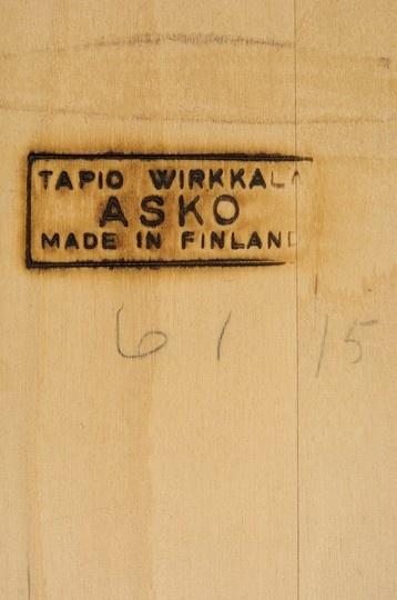 Wirkkala table, stamp