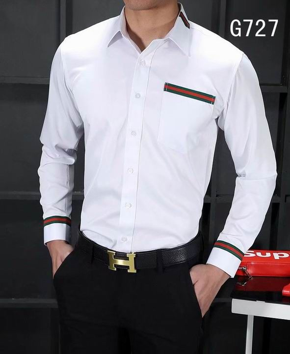 Gucci men shirts-GG5809S   men clothes in 2019   Gucci shirts ... 0ba76a02e67
