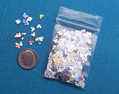 Silver Mickey Mouse Spangles Sprinkles Glitter Pixie Dust for Fish Extender FE Gift - pinned by pin4etsy.com