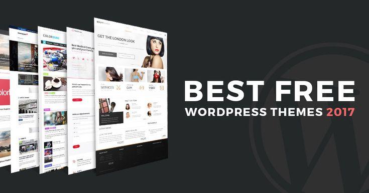 10 best free WordPress themes 2017. Download them now! #download #free #themes #WordPress