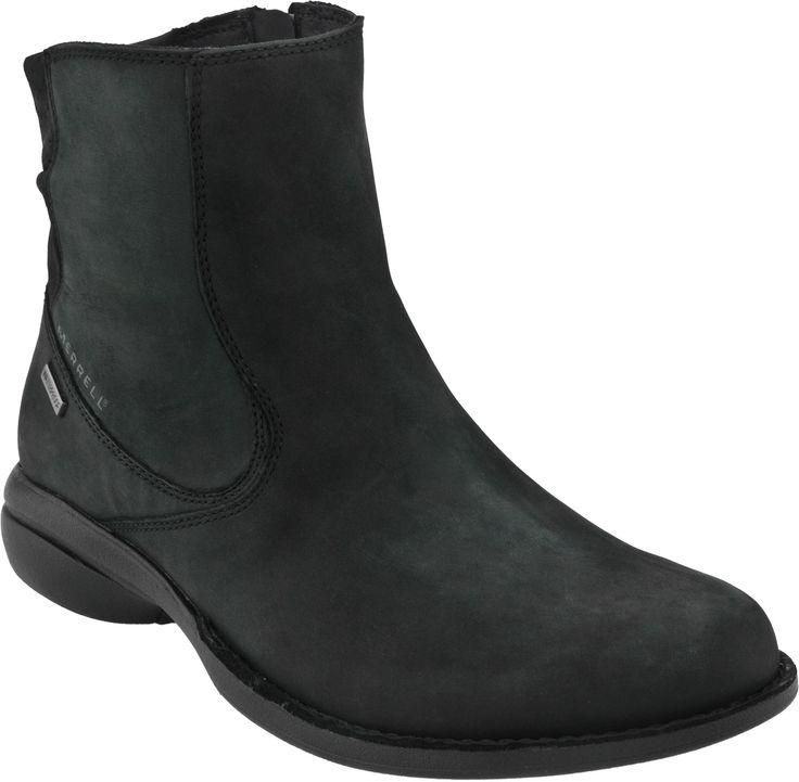 Merrell Captiva Mid Waterproof Women S Boots Black