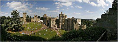 Castillo de Warwick - Primer Castillo en el mundo, del reino anglosajón, Siglo V.