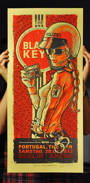 pinterest.com/fra411 #illustration - Black Keys...