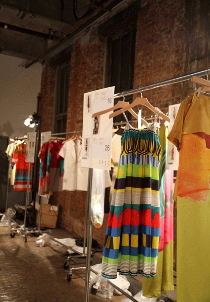 Marimekko S/S 2013 – Behind the Scenes in New York Fashion Week