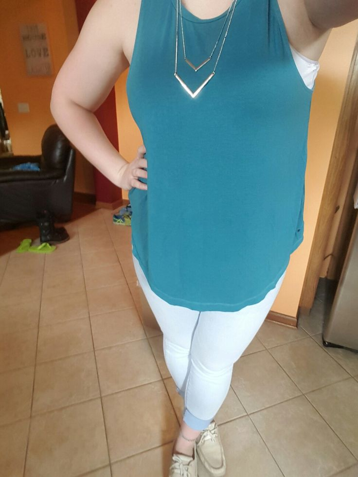 Necklace: H&M Shirt and Jeans: AE