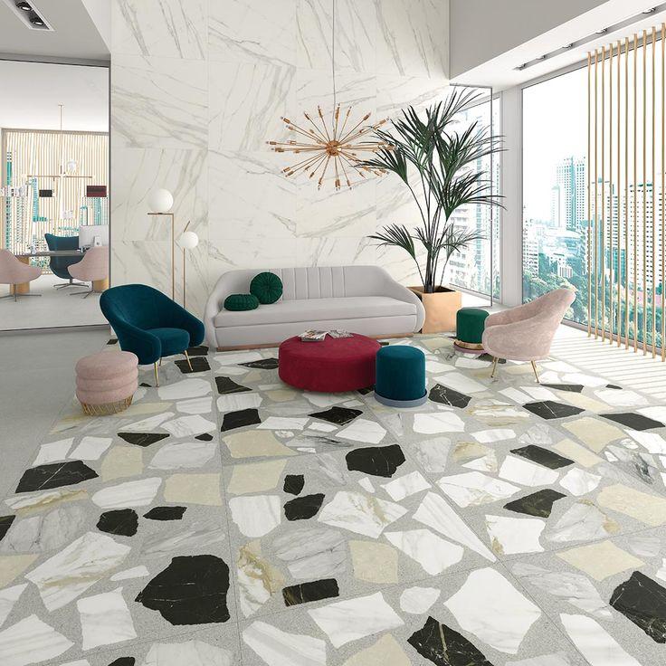 Carrelage grès cérame émaillé aspect marbres Nikoi 120X120 | VIVES Azulejos y Gres