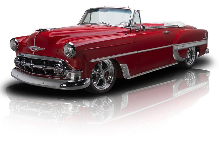 1953 Chevrolet 210 Red
