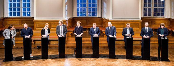 Det kan være sin sag at finde ud af højre og venstre i dansk politik. Det opdaterede politisk kompas placerer de nye partier og flytter nogle af de gamle.