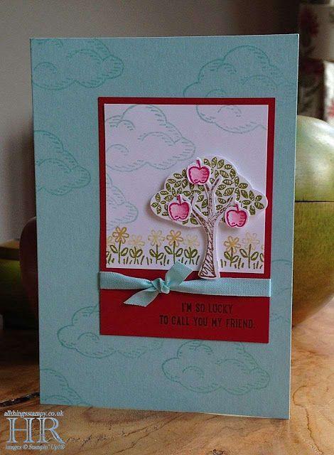 All Things Stampy: Sprinkles of Life apple tree